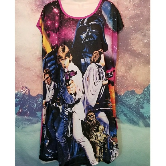 Star Wars Hot Topic A New Hope Dress Plus Size
